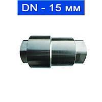 """Клапан обратный подпружиненный для высокого давления резьбовой, уплотнение металл-металл, Ду 15 (1/2"""")/ 32,0 МПа/ 570 °С/ нерж.сталь (AISI 304)/ (арт."""