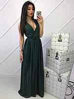 Женское летнее платье длинное в пол