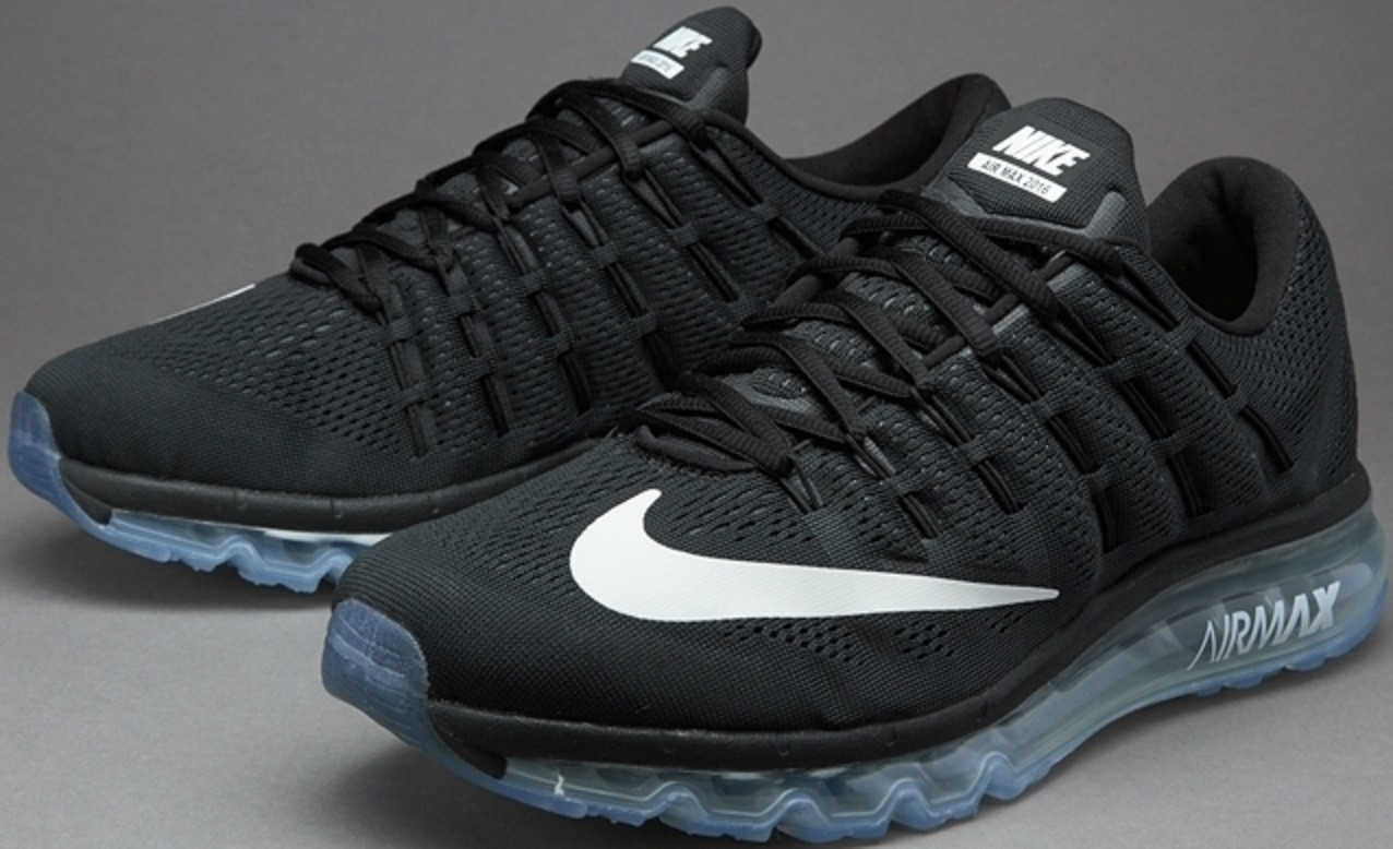 4ce87392 Кроссовки женские Nike Air Max 2016 Black/White-Reflect Silver от ...