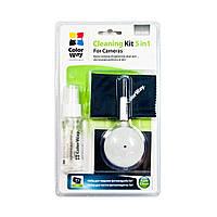 Чистящий набор ColorWay 5 в 1 для фото, видео техники (CW-4206)
