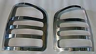 Хром накладки на стопы нержавеющие на Volkswagen T5 (2004-2010 г.)