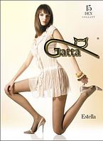 Колготы GATTA ESTELLA 15 ден (черный, телесный, бронзовый, бежевый, золотистый, темно-коричневый) (2; 3; 4)