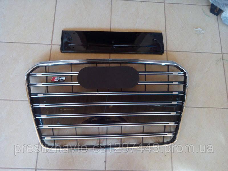 Решетка радиатора на Audi A5 (2011-2016) модельного года в стиле S5