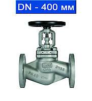 Вентиль регулировочный фланцевый, Ду 400/ 4,0 МПа/ до 350°С/ стальной корпус/ (арт. KGV-40F-400)