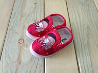 Красные стильные мокасины на девочку  20, 22, 24, 25 размер