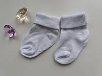 Носочки для новорожденных, белые, фото 1