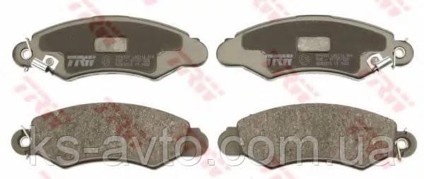 Колодки тормозные дисковые передние REMSA 0702.02