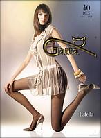 Колготы GATTA ESTELLA 40 ден (черный, бежевый, телесный,кофейный, серый, золотистый) (2; 3; 4)