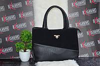 Шикарная сумка Прада. Черная.