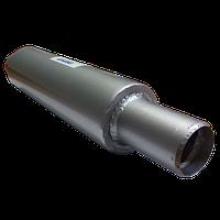 Осевой компенсатор приварной с защитным кожухом и внутренним стаканом Ру16, Ду 50 L 60 (арт. AEJ-W-PR-IS-50)