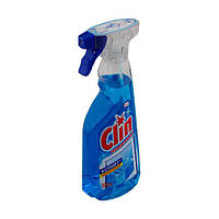 Моющее средство для стекол Clin:500 мл Голубой (с распылителем)