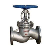 Вентиль запорный сальниковый стальной фланцевый, PN16 / DN15 (арт. 15с65нж-15)