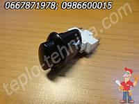 Кнопка двухконтактная без фиксации для розжига или подсветки плиты Гефест