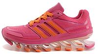 Женские кроссовки Adidas Springblade (адидас спрингблейд) розовые