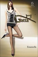 Колготы GATTA EMANUELLA 15 ден (телесный, черный, бежевый, бронзовый, серый) (2; 3; 4)