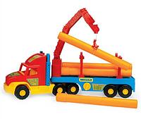Игрушечная машинка Тягач-трубовоз из серии Super Truck Wader