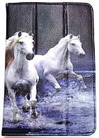 """Чохол до планшету універсальний 7"""" (м.1684-Т) мал.Трійка коней"""
