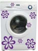Виниловая наклейка- на стиральную машину
