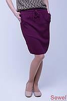 Весенняя вязаная юбка Sewel