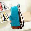 Большой тканевый рюкзак с ушками, фото 5