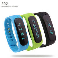E02 smart band (спортивный браслет, пульс, шагомер)