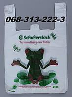 """""""Лягушка"""" 30х50см полиэтиленовые пакеты майка первичка с рисунком оптом от производителя"""