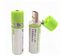 Аккумулятор USB AA 1.2V 1450 mAh