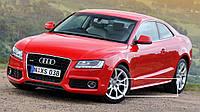 Накладки на пороги тюнинг обвес Audi A5 Coupe стиль S-line