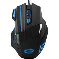 Мышь Esperanza EGM201B Wolf  Black/Blue USB