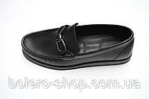 Мужские лоферы туфли мужские Baldinini  черные кожаные , фото 2
