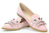Женские балетки розового цвета Lentine PINK