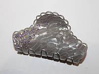 Заколка-краб фр. пластик