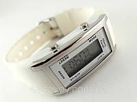 Електронные женские часы Alberto Kavalli цвет серебро, цифровой стиль, фото 1