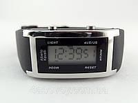 Електронные часы Alberto Kavalli цвет серебро, ретро стиль, фото 1