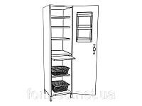 Шкаф медицинский без сейфа для медикаментов ШМ-1-01 Medin (Медин)