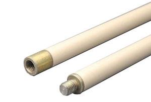 Гибкие ручки для щетки для чистки дымохода Hansa 1 метр (белые)