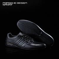 Кожаные кроссовки Adidas Porsche Design TYP64 2.0 в наличии, чёрные! РАЗМЕР 40-45, фото 1