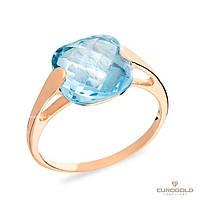 Столичная Ювелирная Фабрика Золотое кольцо c циркон (фианит)ом 140480пг