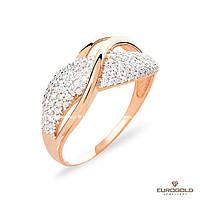 Столичная Ювелирная Фабрика Золотое кольцо c циркон (фианит)ом 140498