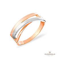 Столичная Ювелирная Фабрика Золотое кольцо c циркон (фианит)ом 140527