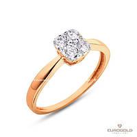 Столичная Ювелирная Фабрика Золотое кольцо c циркон (фианит)ом 140536