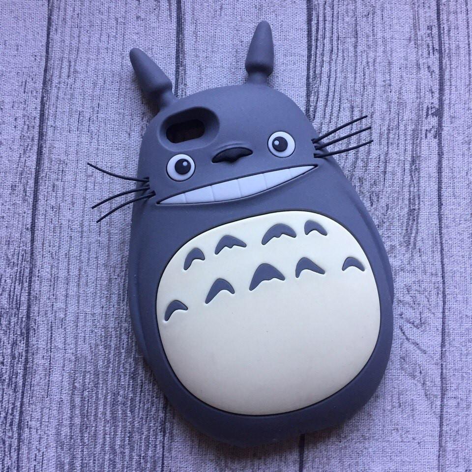 Силиконовый чехол кот Тоторо для iPhone 6/6s