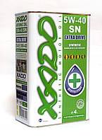 XADO (ХАДО) Atomic Oil 5W-40 SN моторное масло синтетика - 4 литра.