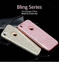 TPU чехол Usams Bling для iPhone 6 / 6S (4,7 дюйма) (4 цвета)