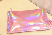 Стильный голографический клатч-конверт, фото 2