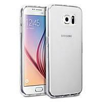 Силиконовый чехол 0,33 мм для Samsung Galaxy S6 G920F/G920D Duos прозрачный