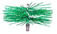 Щетка-ершик для чистки дымохода ф400мм пластиковая под резьбу
