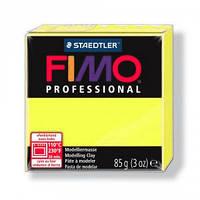 Фимо Профессионал 85 г Fimo Professional -1 желтый лимонный