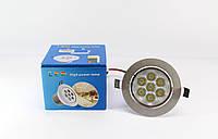 Врезная круглая точечная лампочка LED LAMP 7W 1403