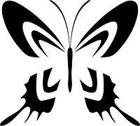 Виниловая наклейка-Бабочка (4) (от 10х10 см)